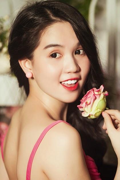 Queen of underwear Ngoc Trinh