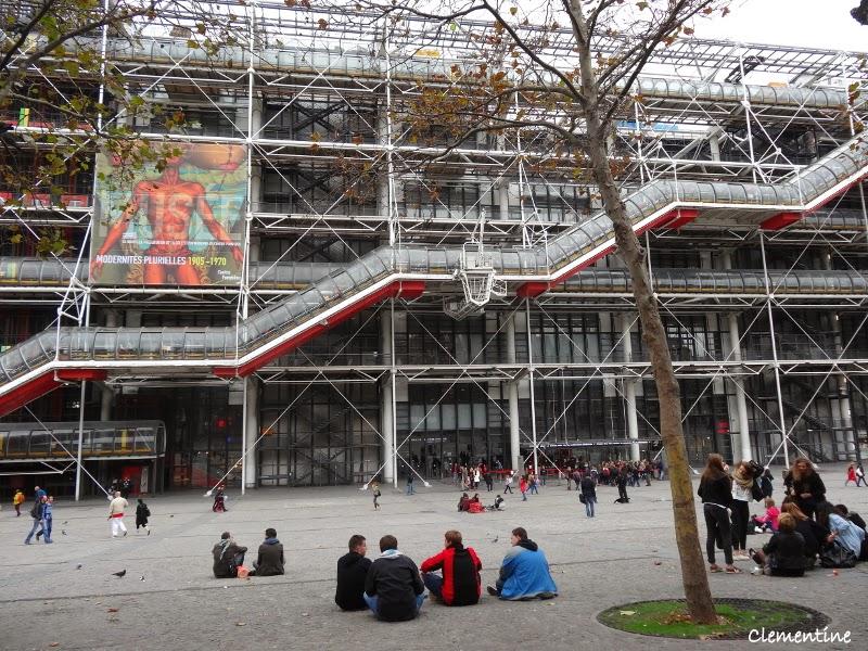 Le Blog De Clementine Paris Octobre Centre Pompidou Et - Ustensiles de cuisine paris