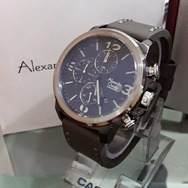 jam tangan alexandre christie 6280 abu