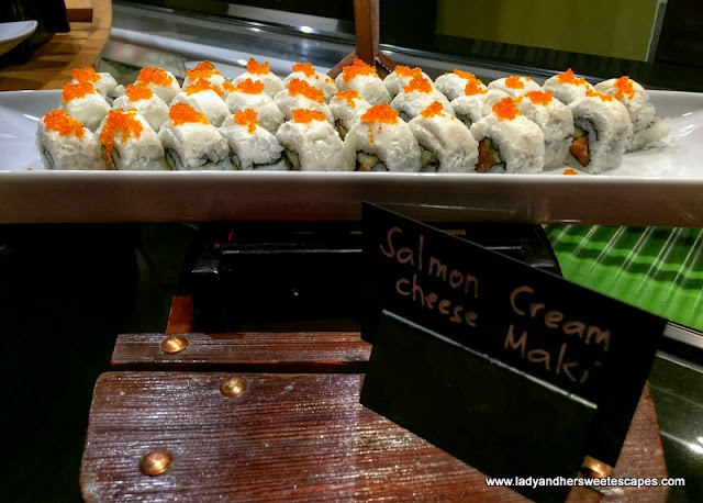 Salmon Cream Cheese Maki