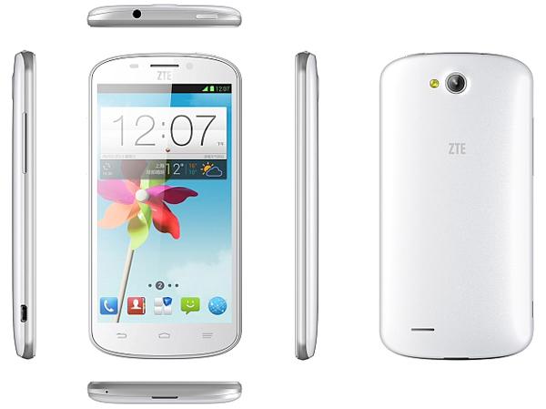 ZTE N919D, Ponsel Dual SIM GSM-CDMA Harga Rp1 Jutaan