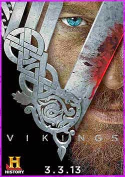 Vikings (Vikingos)  Temporada 1-2-3-4-5 | DVDRip Latino HD Mega