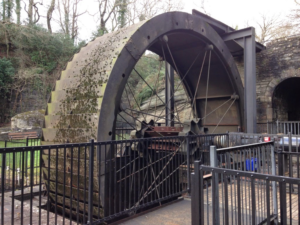 Aberdulais water wheel