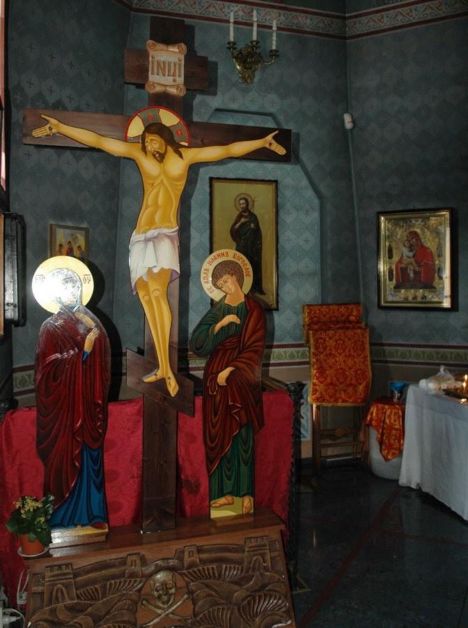 распятие в церкви Николая Чудотворца