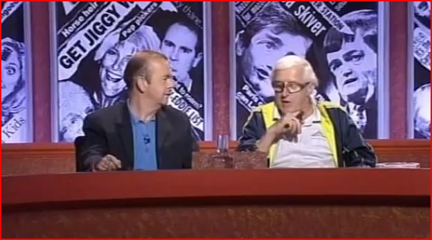 "Jimmy Savile on Have I Got News for You ""admission""?"