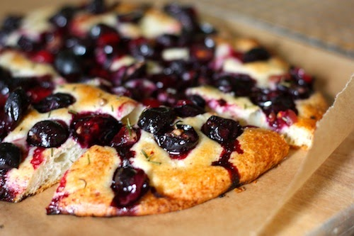 ben and birdy: Wild Grape Focaccia with Rosemary