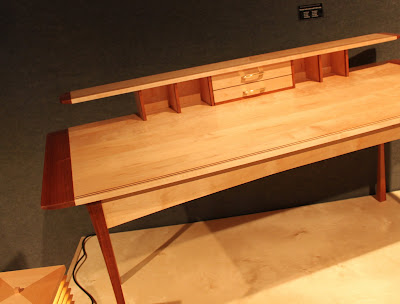 Frank Lloyd Wright inspired desk by David Richter