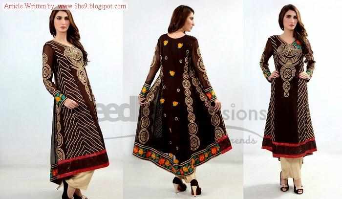 Needle Impressions Eid Ready to wear 2014
