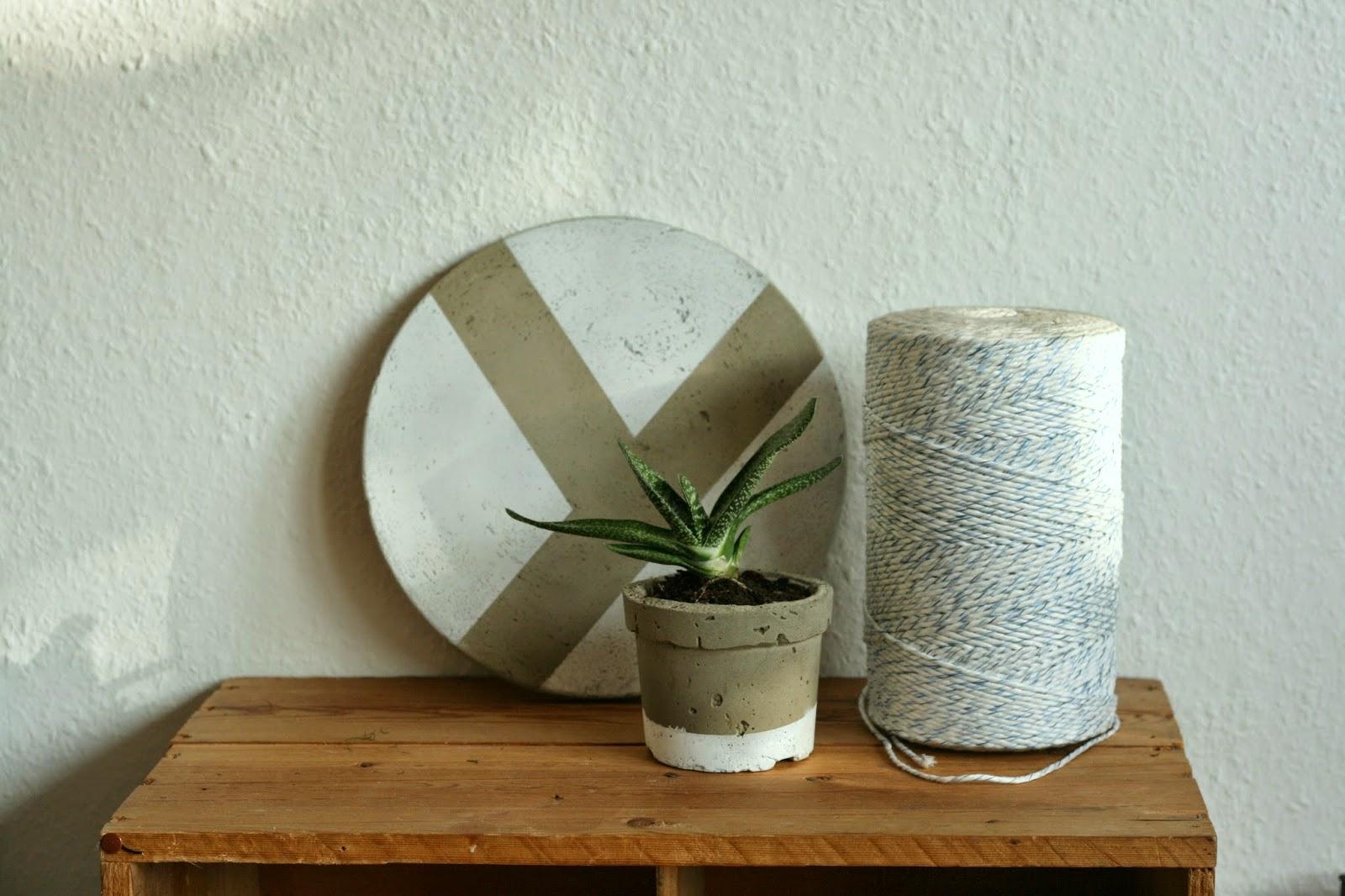 vida nullvier blumentopf aus beton. Black Bedroom Furniture Sets. Home Design Ideas