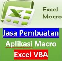 Jasa Pembuatan Aplikasi Macro Excel VBA dan Training
