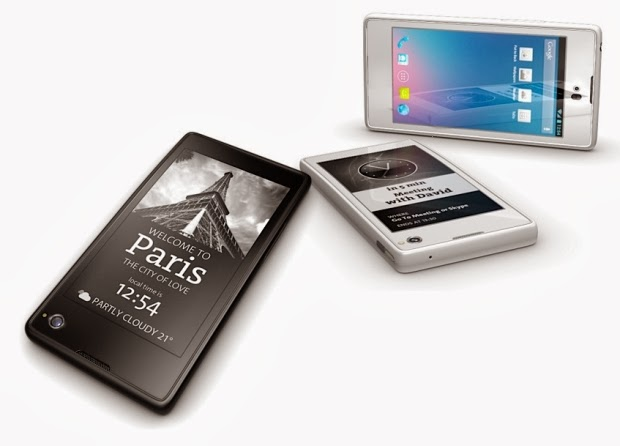 Innovative Dual Screen Smartphone: YotaPhone