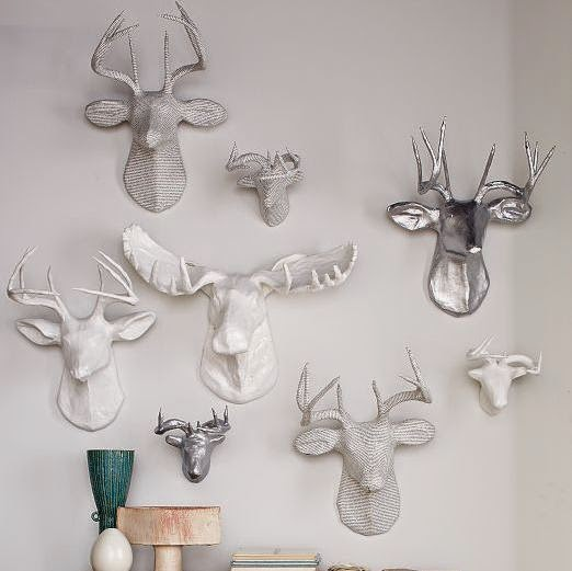West Elm Paper Mache Animals