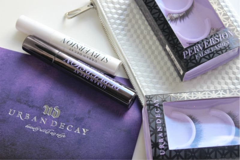 New Urban Decay Perversion Mascara, False Lashes and Subversion Lash Primer
