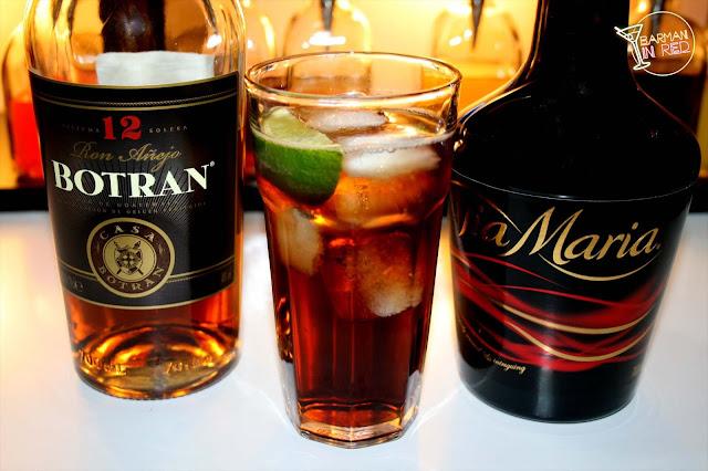 dark maria cocktail