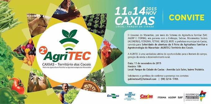 Prefeitura de Caxias faz convite para abertura da Agritec Território dos Cocais