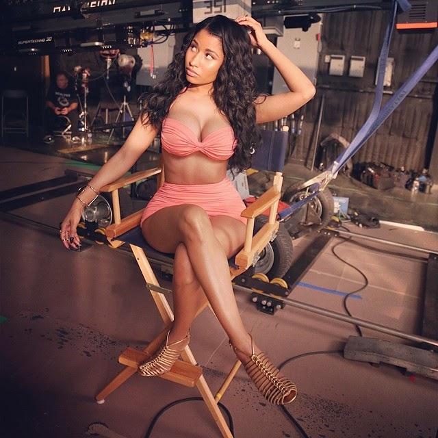 Como medir el trasero de Nicki Minaj