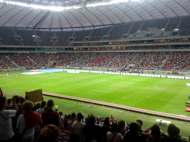 Na trybunach zgromadziło się ponad 20 tys. osób - fot. Tomasz Janus / sportnaukowo.pl