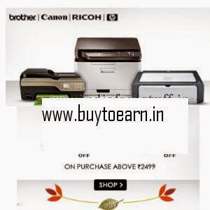Snapdeal: Buy Printers & Scanners upto 60% off