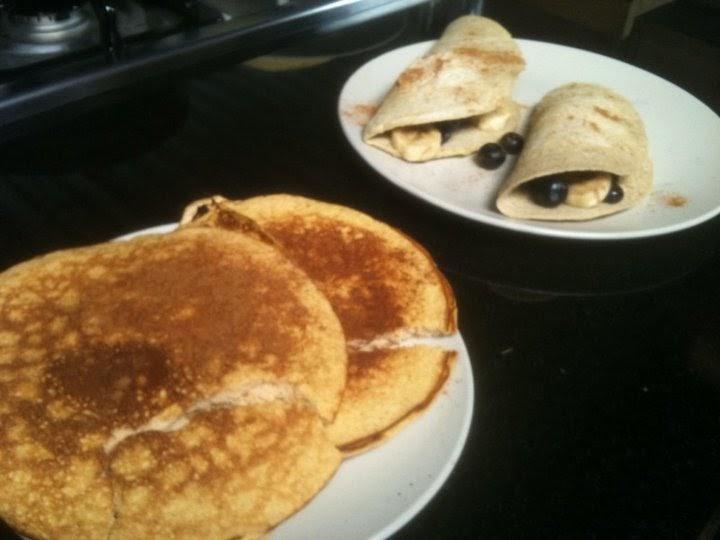 Daniel Dávila Fitness press: Pancakes de proteina!