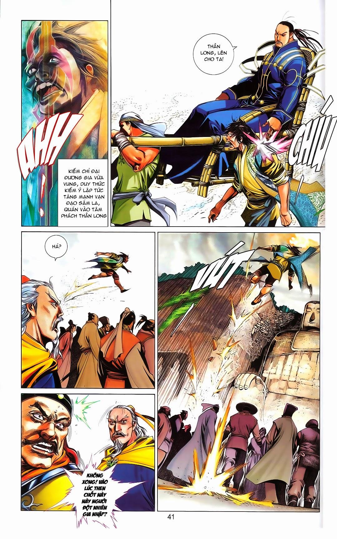 Phong Vân chap 667 Trang 43 - Mangak.info