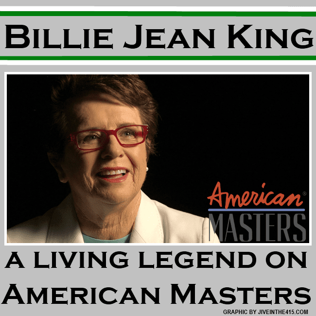 Living legend Billie Jean King is a gay national treasure.