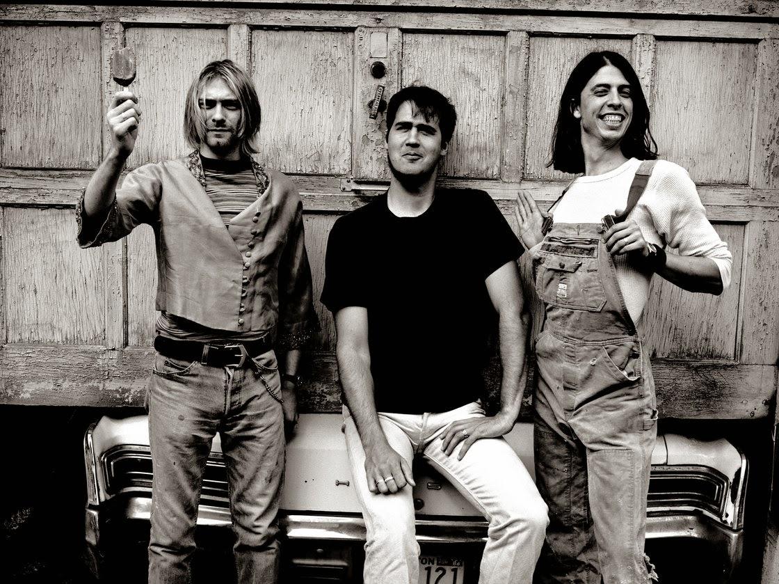 Nirvana kurt cobain kris novoselic dave grohl