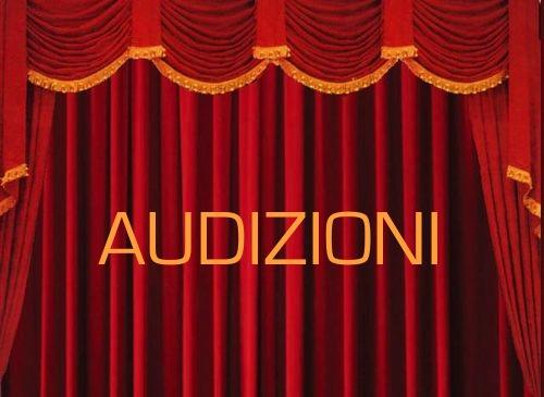 AUDIZIONI PER CANTANTI / ATTORI