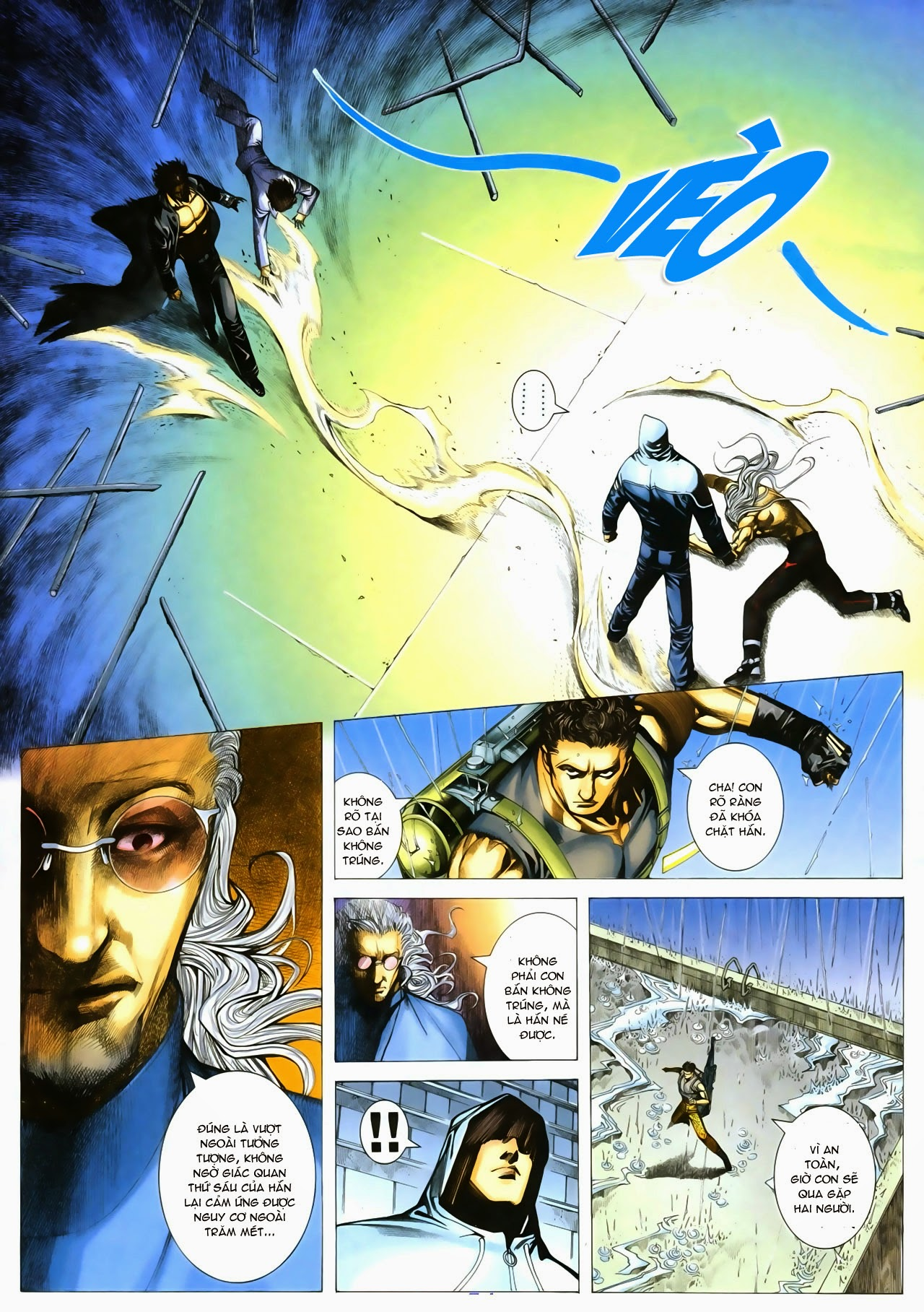 Tuyệt Địa Thiên Hành chap 8 Trang 15 - Mangak.info