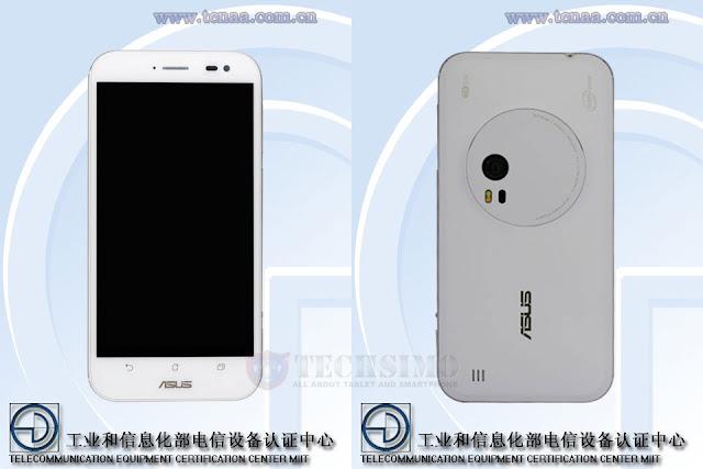 Asus Z00XSB telah lulus uji di situs sertifikasi Tenaa, generasi penerus Asus Zenfone 2 Lazer?