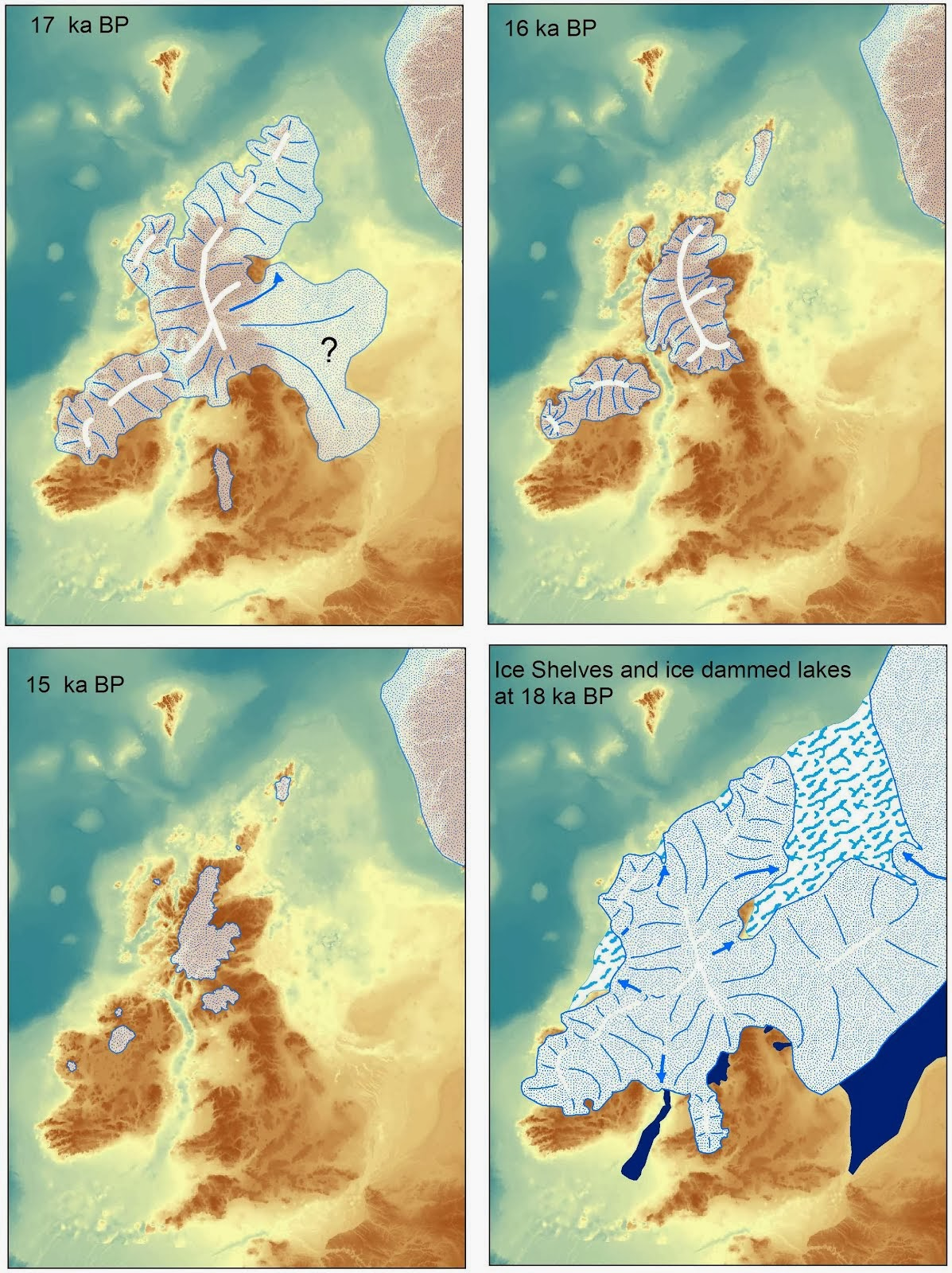 Ice Age Maps