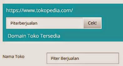 Cara Buat Toko Online Gratis Di Tokopedia