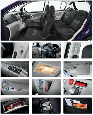 Perodua Myvi accessories