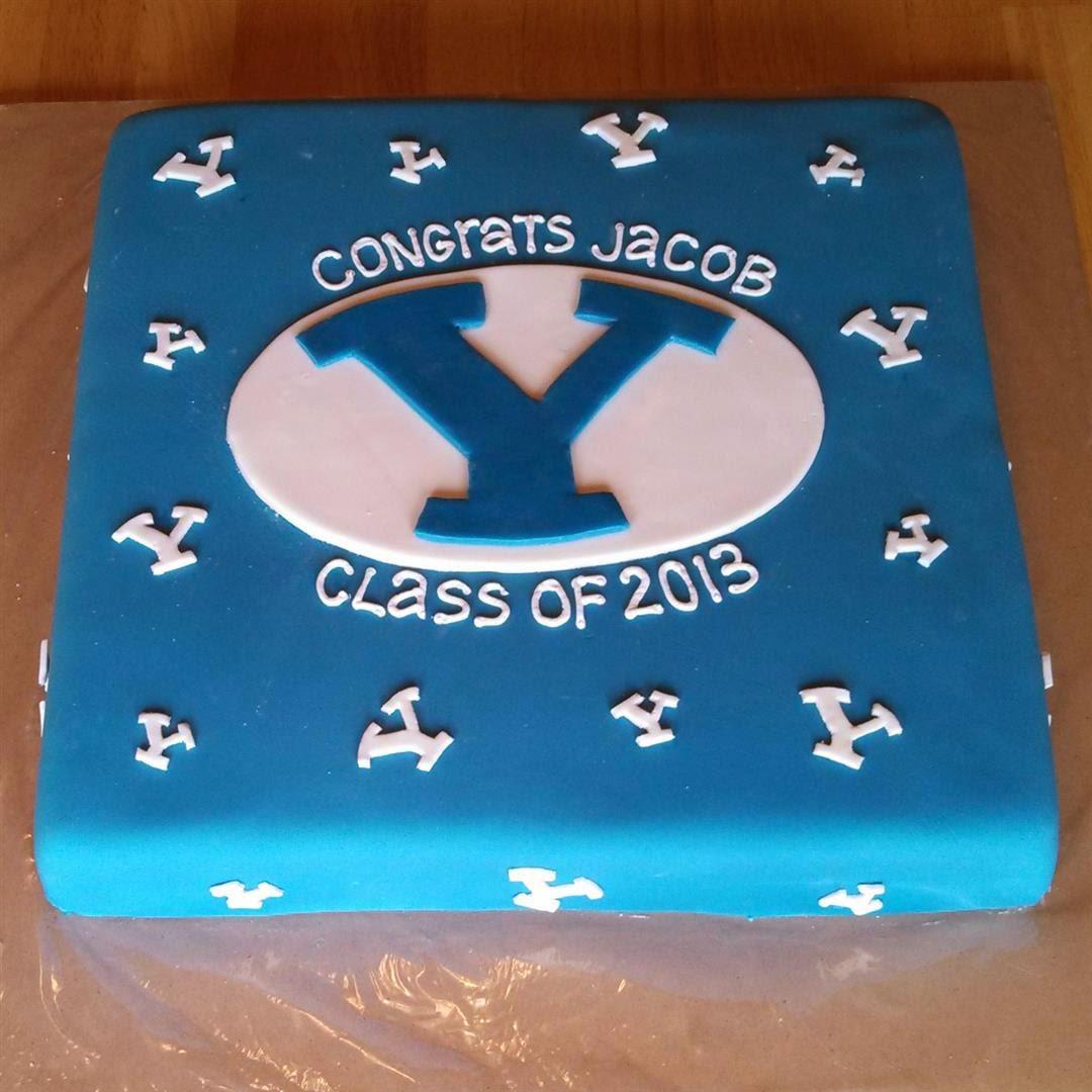 BYU Grad Cake
