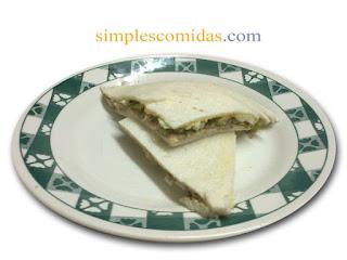 sandwiches de atun