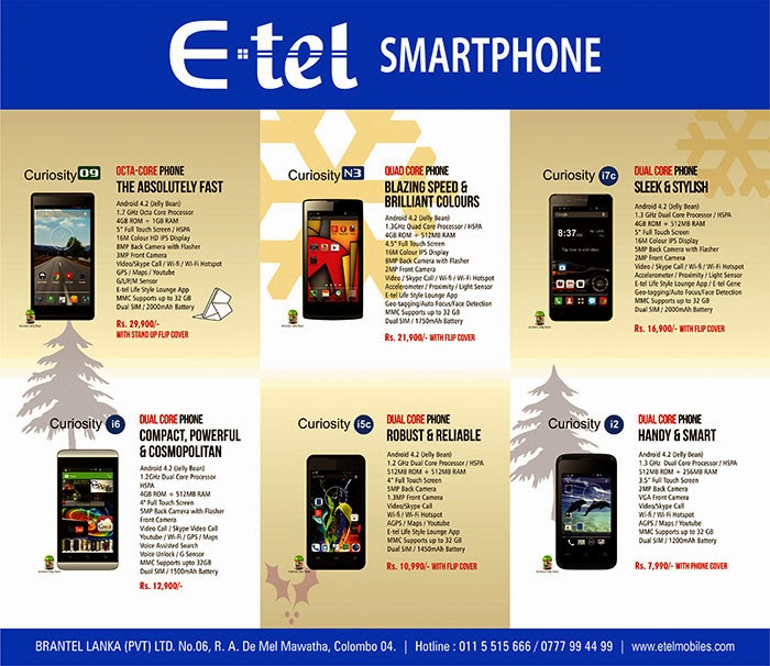 E-TEL philosophy transcends the essence of human bonding that nurture deep rooted values and celebrate the diversity of the individual. Our technologies empower individuals to aspire to attain their potential. E-TEL phones are designed in Hong Kong using the best in class technologies and processes to bring to our customers a brand that is smart, trendy and reliable. E-TEL phones are manufactured in China in four of the top ten world class manufacturing facilities maintaining international quality and standards. A Comprehensive one year warranty backed up by reliable After Sales Service ensures that every E-TEL phone purchased is meticulously cared for and the customer treated with great care.