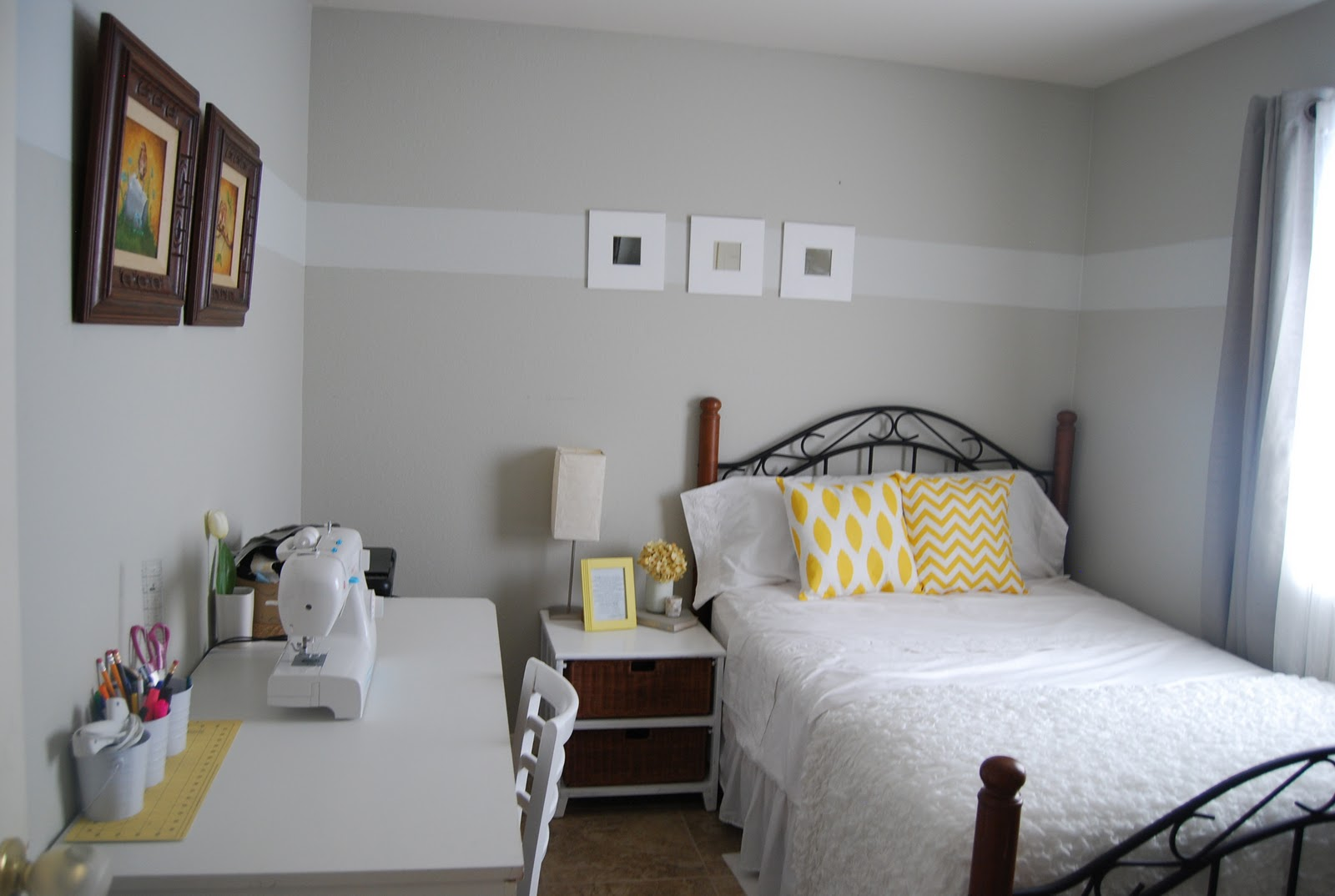 Cinsarah Guest Room Craft Room Reveal