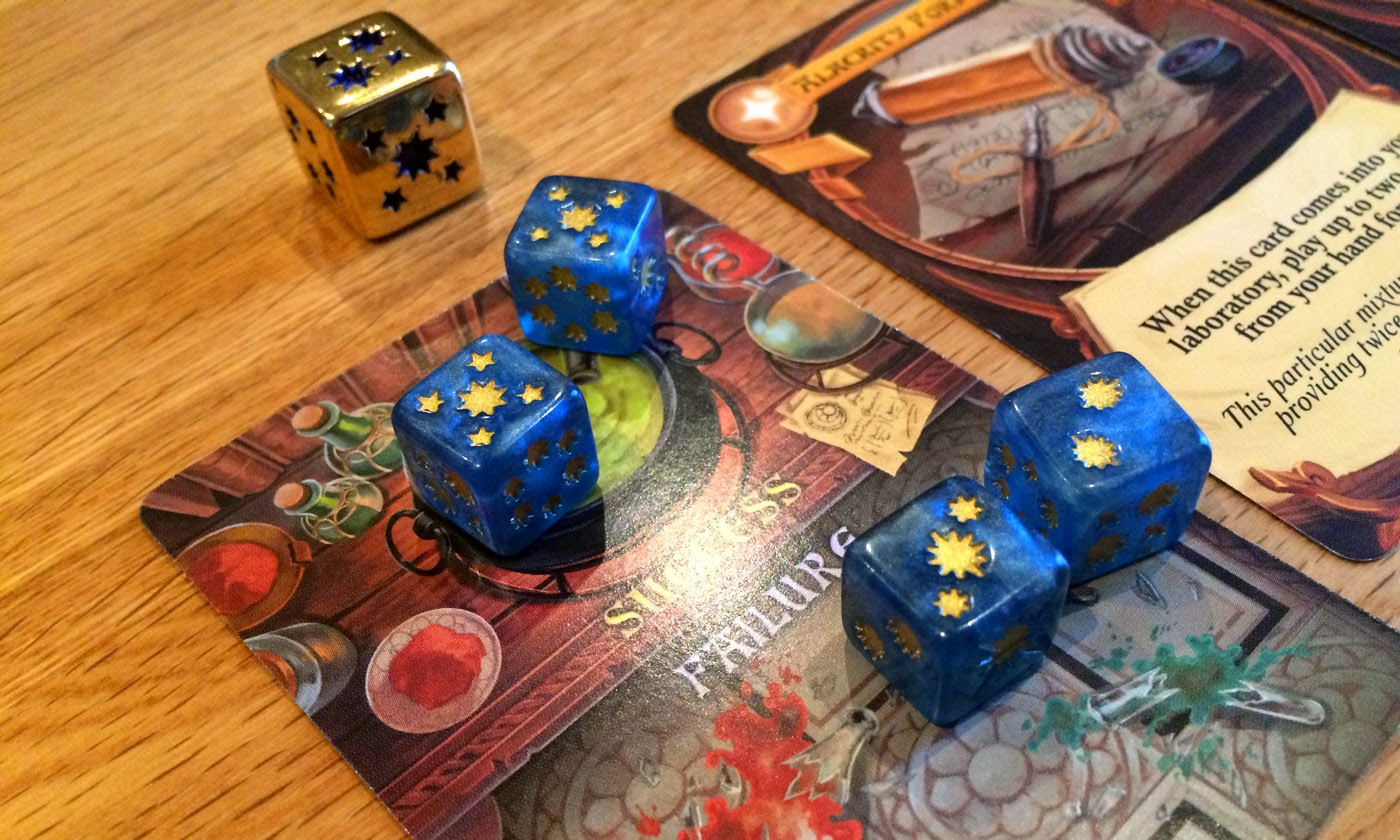 Chaos & Alchemy review experiment dice