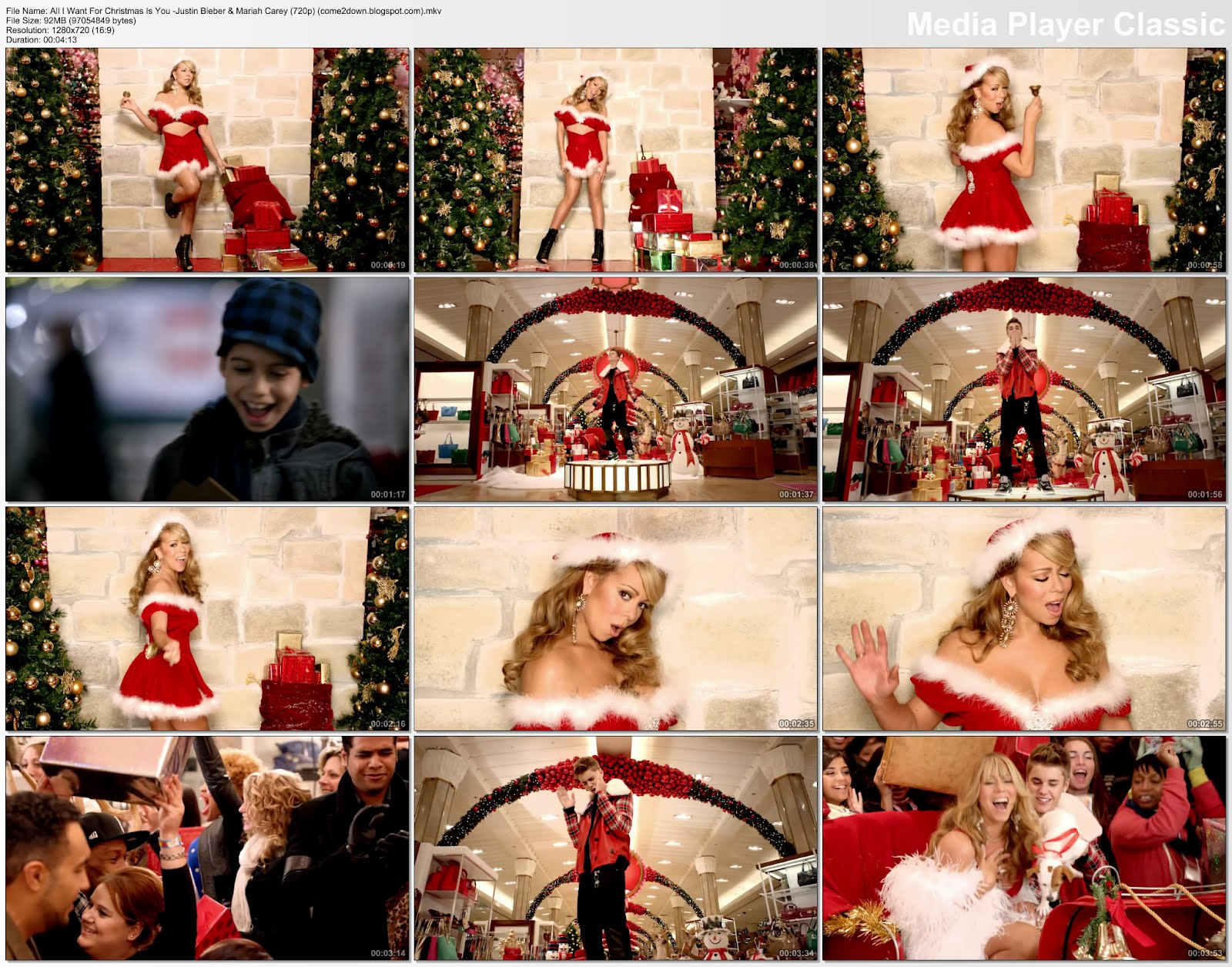 Mariah carey justin bieber all i want for christmas is you download ...