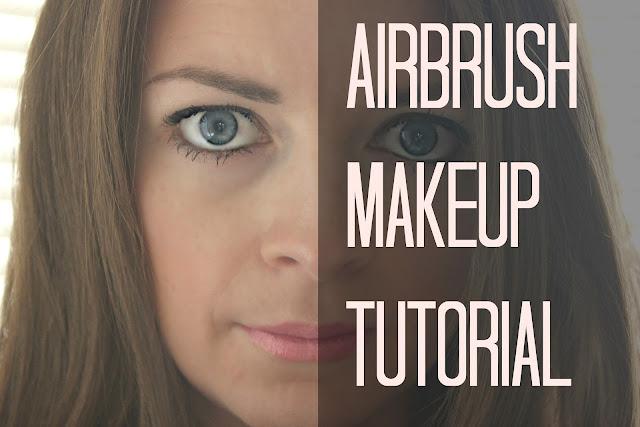 blushing basics: Airbrush Makeup Review & Tutorial
