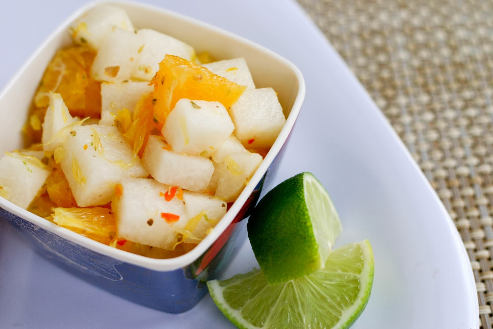 Jicama and Orange Salad Recipe