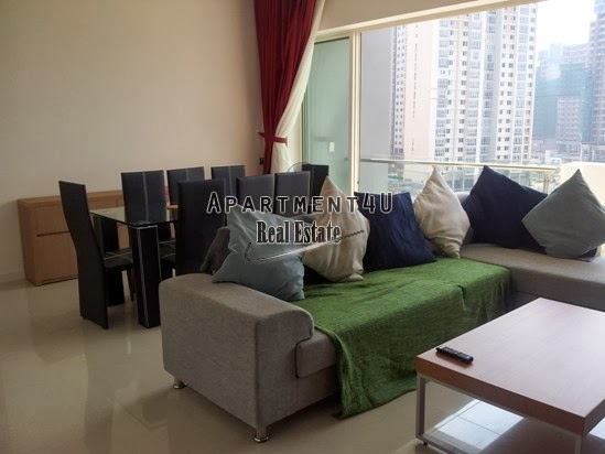 HCMC Estella condo for rent 124 m2/US$1200