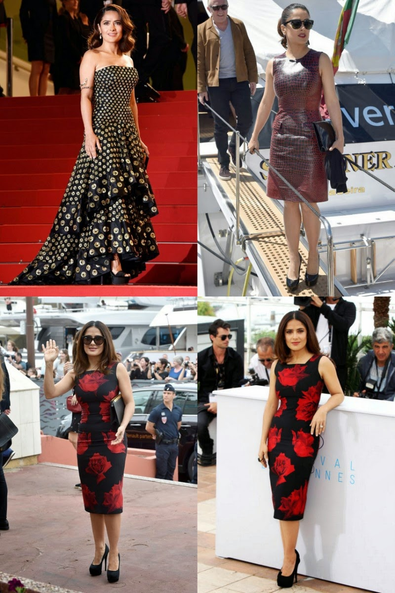 Cannes 2015: Salma Hayek Looking Stunning in Cannes