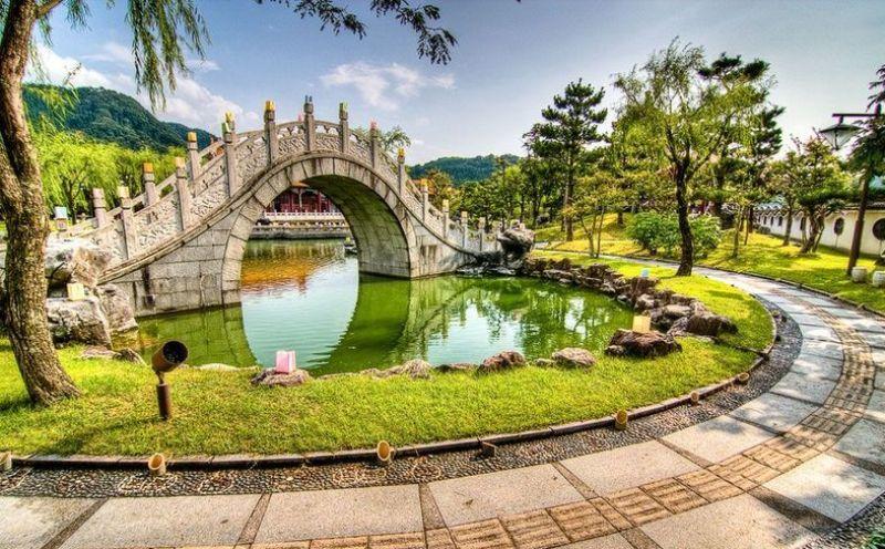 Mariajose jardines clasicos chino for Jardin japones de santiago