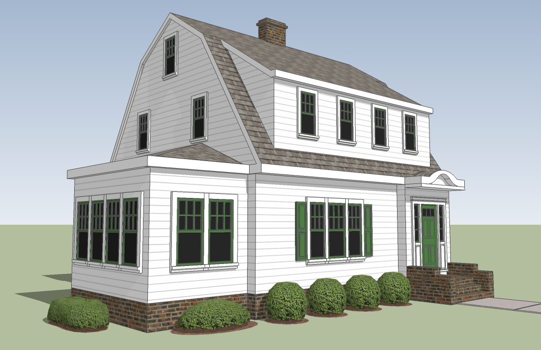 gallery for gt gambrel roof dormer
