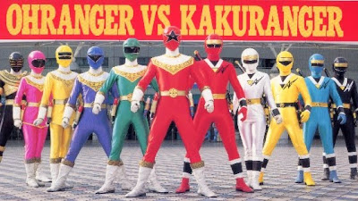 Chouriki Sentai OHRanger: Ohranger VS Kakuranger