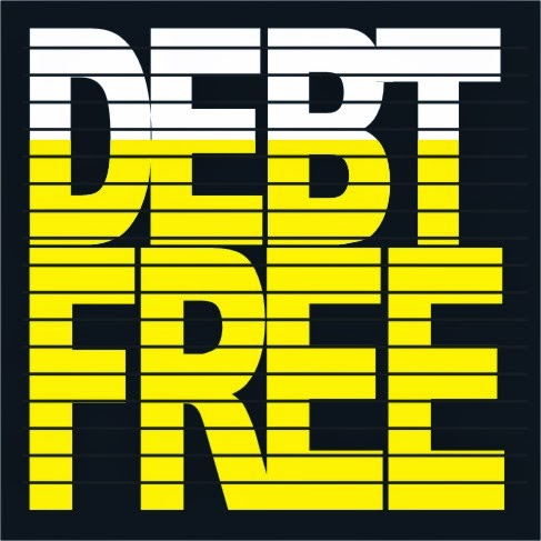 photograph about Free Printable Debt Free Charts identified as Financial debt Cost-free Charts