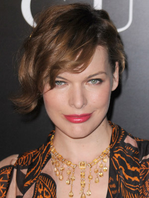 Beautiful Milla Jovovich Hairstyles