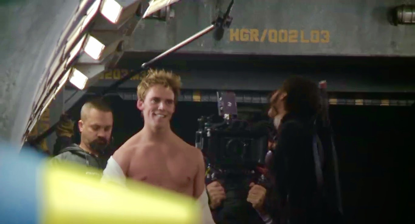 hunger games mockingjay part one finnick underwear scene deleted video sam claflin