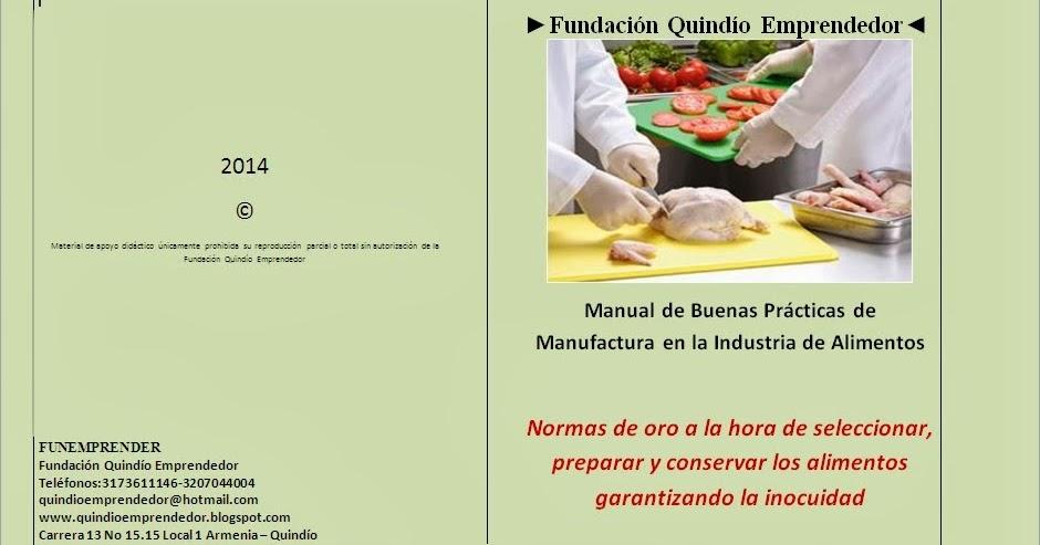 curso de manipulaci n de alimentos manual de buenas On manual de buenas practicas de manipulacion de alimentos