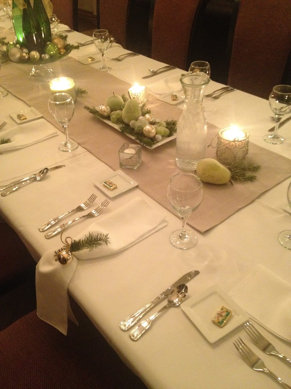 Table Setting In French Amuse Bouche
